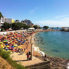 Foto de  Praia do Porto da Barra enviada por Camila Natalo em