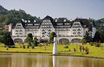 Foto de  Palácio Quitandinha enviada por Vivian Silva em