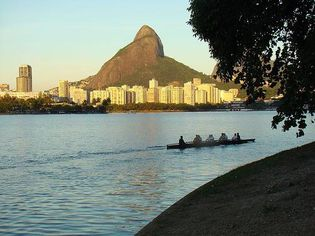 Foto de  Lagoa Rodrigo de Freitas enviada por Cibelle Bertoni em 12/12/2012