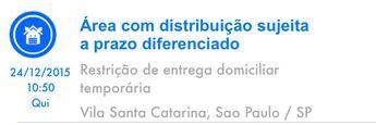 Foto de  Correios - Centro de Entrega de Encomendas - Cee Vila Santa Catarina enviada por Jeniffer Reis em 28/12/2015