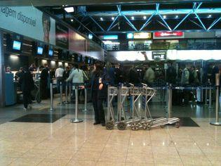 Foto de  Aeroporto Internacional de Curitiba - Afonso Pena enviada por Christo em 17/11/2011