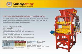 Foto de  Vibrafort Industria e Comercio de Maqu enviada por Ana Victorazzi em 13/04/2011