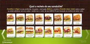 Foto de  Subway - Praça Liberdade enviada por Santinho Santiago em 10/02/2015