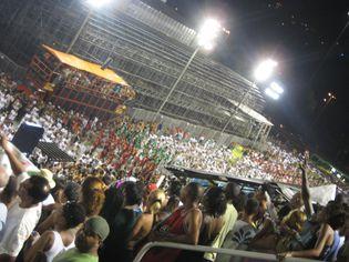 Foto de  Sambódromo da Marquês de Sapucaí enviada por Carla Barros em 09/01/2012