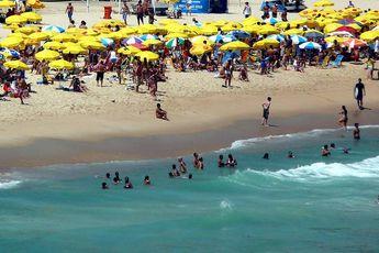 Foto de  Praia do Leblon enviada por SantaMaria. em 26/06/2012