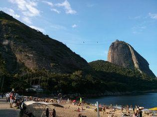 Foto de  Praia Vermelha Bar e Restaurante-24 Horas - Urca enviada por Camila Natalo em 22/04/2014