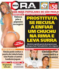 Foto de  Sac Jornal O Dia e Meia Hora enviada por Edielle Moura em 06/10/2014