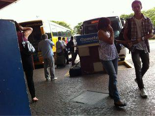 Foto de  Pluma Conforto Turismo S/A Estacao Rodoviaria Sorocaba enviada por Alexandre Eher em 28/10/2011