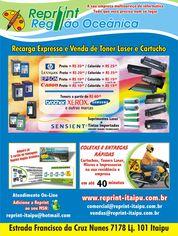 Foto de  Reprint Itaipu Niteroi Recarga Toner Cartucho Hp Lexmark Samsung Xerox enviada por Reprint em