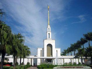 Foto de  Templo Mórmon de São Paulo enviada por Felipe Biavo em