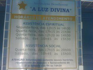 Foto de  Instituição Beneficente  A Luz Divina enviada por Leonardo Andreucci em 25/10/2010