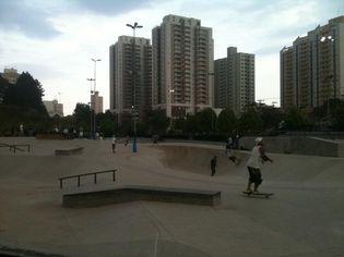 Foto de  Parque Cidade Escola da Juventude Cittá Di Marostica enviada por Christo em