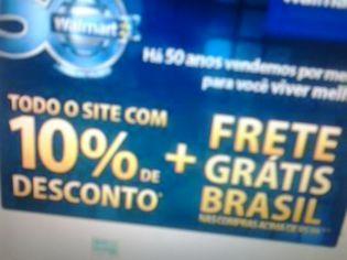 Foto de  Walmart-Lojas Big - Big Pelotas - Areal-Areal enviada por Milton De Abreu Cavalcante em 18/11/2013