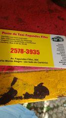 Foto de  Ponto de Táxi Fagundes Filho enviada por Ricardo Luna em