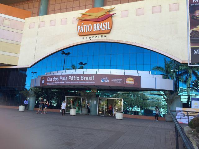 Resultado de imagem para fotos do shopping pátio brasil