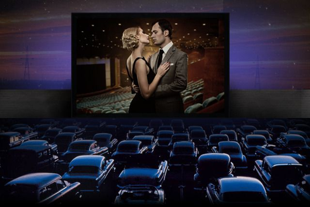 Resultado de imagem para cine drive in df