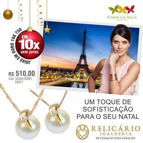 b84c27ccc8e Relicário Joalheria - Shopping Passeio das Águas - Vila João Vaz ...