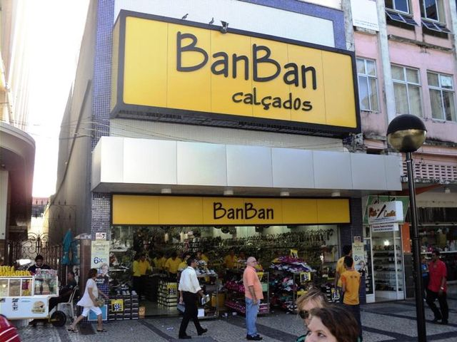8408aaec1 Ban Ban Calçados - Praça do Ferreira - José Bonifácio, Fortaleza, CE -  Apontador
