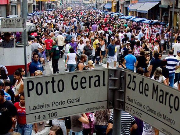Bolsa De Festa Rua 25 De Março : Rua de mar?o magazines vinte e cinco