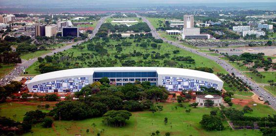Resultado de imagem para centro de convençoes brasilia